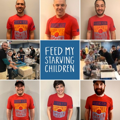 HDC team supporting Feed My Starving Children