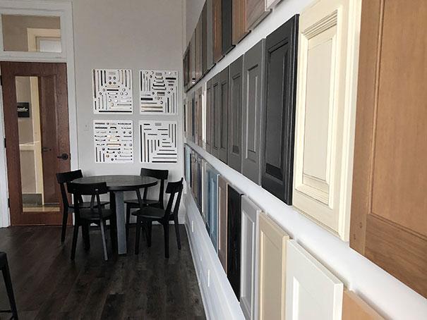 Hogan Design & Construction Wheaton Design Center Cabinet Samples